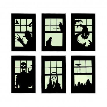 ventanas halloween